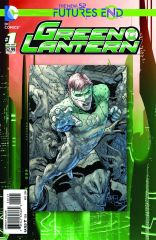 GREEN LANTERN FUTURES END #1 STANDARD COVER
