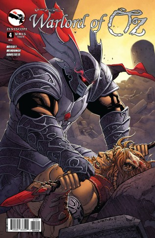 GRIMM FAIRY TALES WARLORD OF OZ #4 COVER B