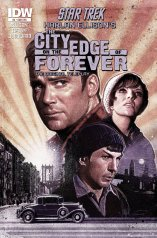 STAR TREK THE CITY ON THE EDGE OF FOREVER #3 SUB COVER
