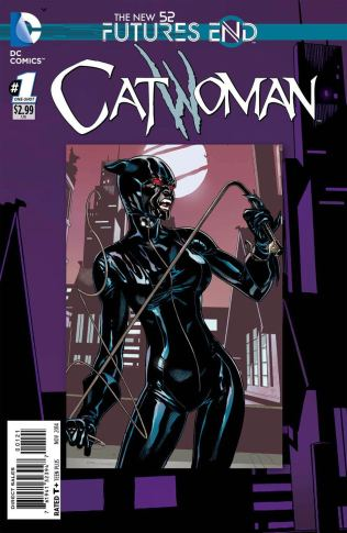 CATWOMAN FUTURES END #1 STANDARD COVER
