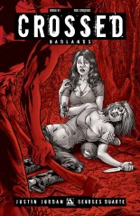 CROSSED BADLANDS #61 RED CROSSED COVER