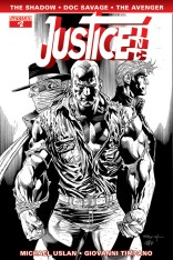 JUSTICE INC. #2 SYAF BLACK AND WHITE COVER