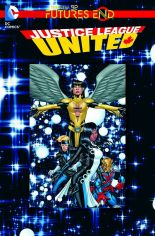 JUSTICE LEAGUE UNITED FUTURES END #1 STANDARD COVER