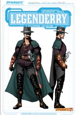 LEGENDERRY A STEAMPUNK ADVENTURE #7 CONCEPT COVER B