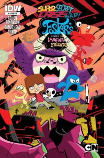 SUPER SECRET CRISIS WAR FOSTERS HOME FOR IMAGINARY FRIENDS #1 SUB COVER