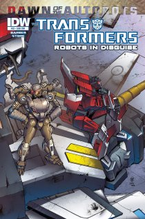 TRANSFORMERS ROBOTS IN DISGUISE #33 SUB COVER