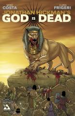 GOD IS DEAD #23 END OF DAYS COVER