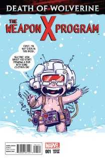 DEATH OF WOLVERINE THE WEAPON X PROGRAM #1 VARIANT