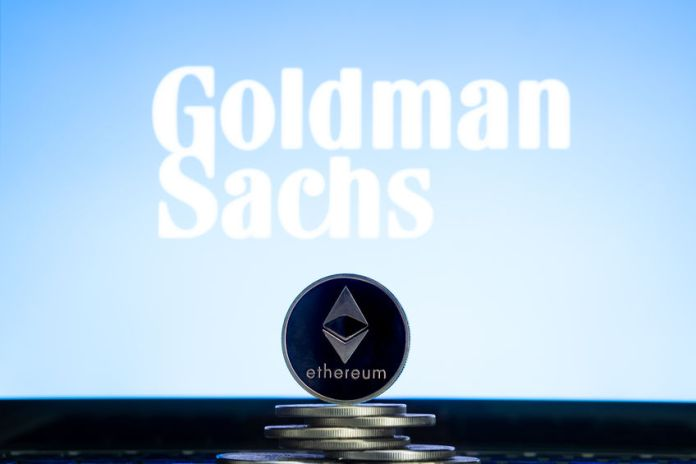 goldman sachs crypto