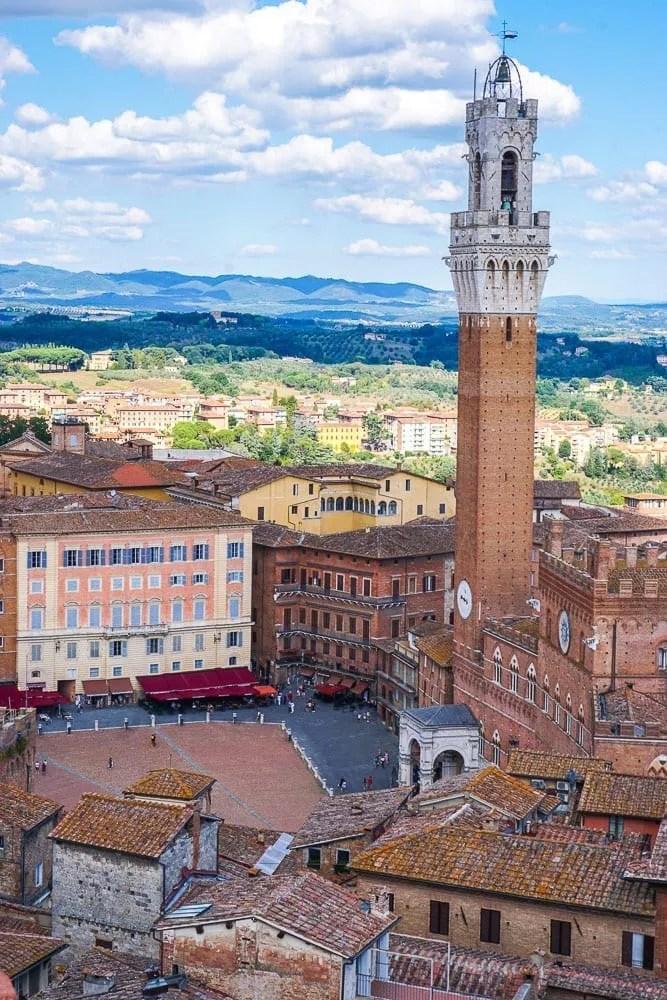 Cosa vedere a Siena: piazza del Campo