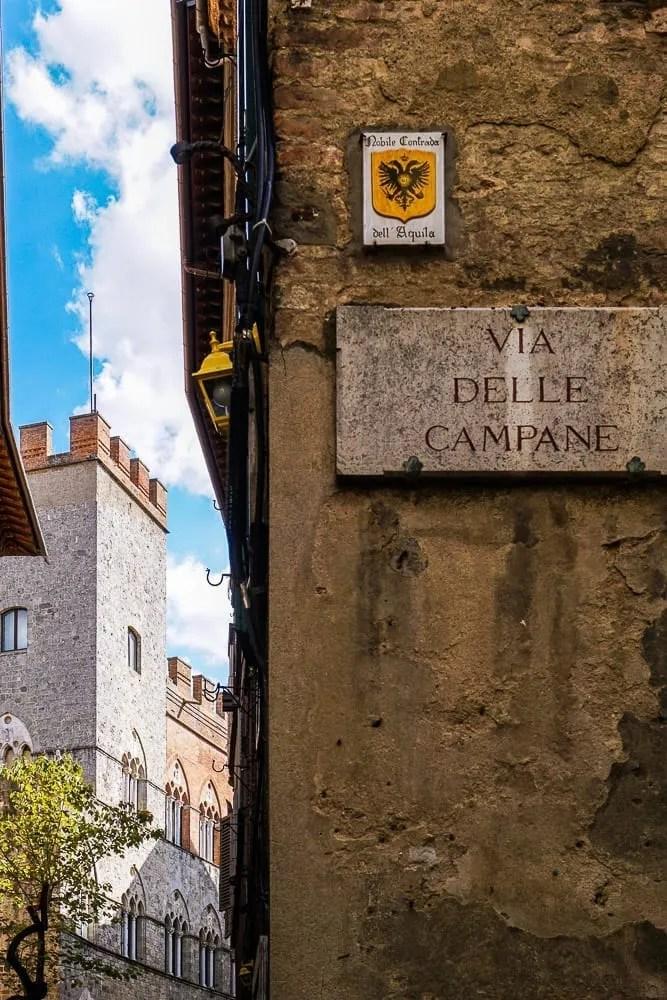 Le contrade di Siena