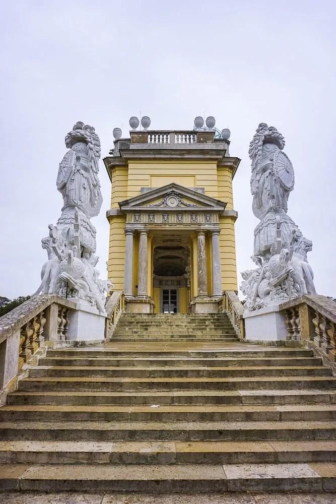 Vienna e la Gloriette