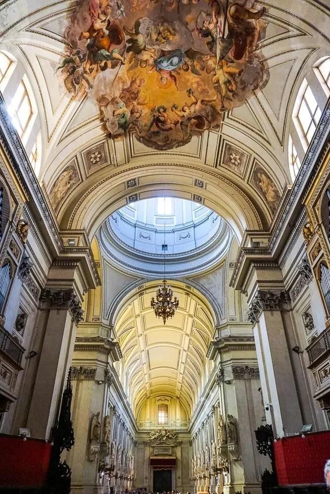 Visita interno Cattedrale Palermo