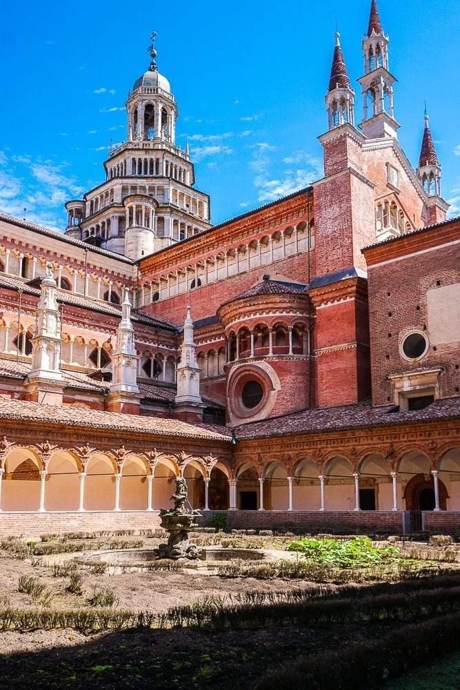 Chiostro Piccolo certosa di Pavia