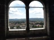 Gubbio , vista dall'alto