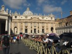Roma, dal Papa