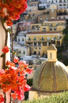 "The ""Secret Garden"" in Positano"