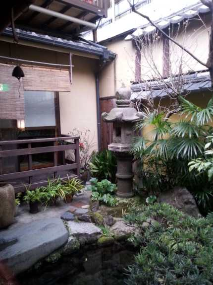 Japanese garden at Kikokusa
