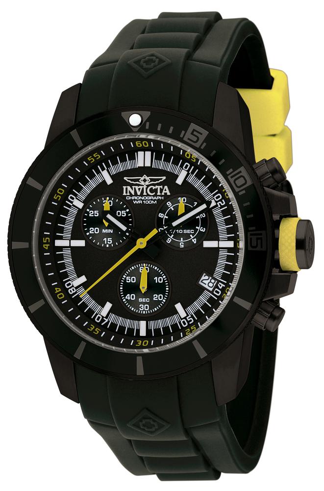 Invicta Pro Diver Watch In Black At
