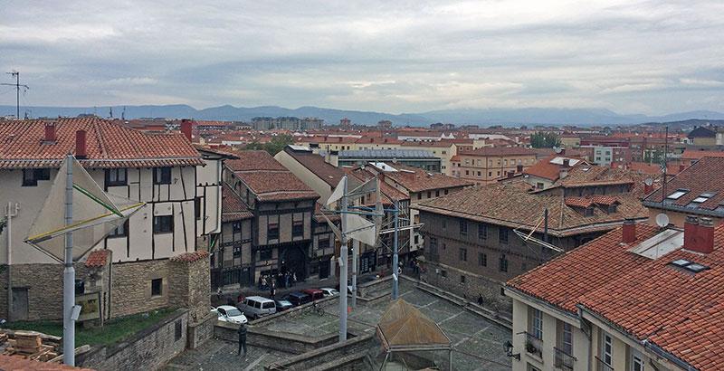 Paso de ronda Santa María de Vitoria