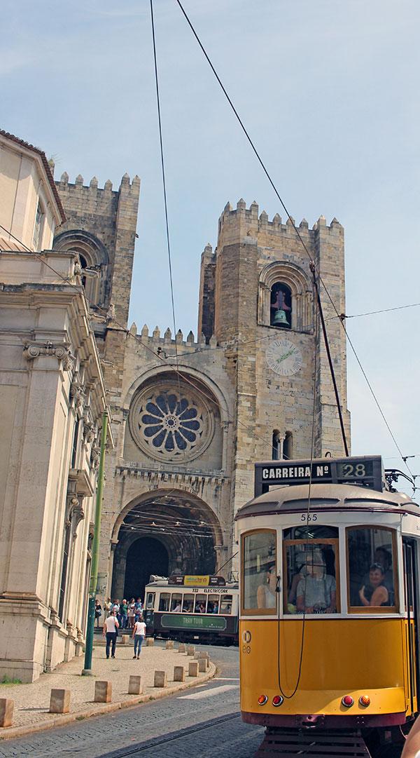 La Sé. Qué hacer en Lisboa.