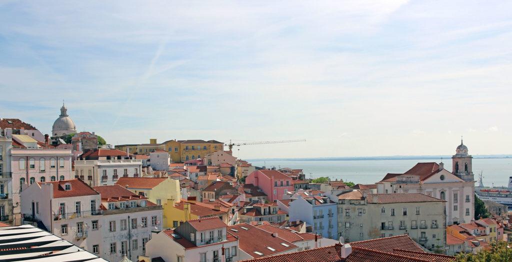 Qué hacer en Lisboa, mirador de Santa Luzia.