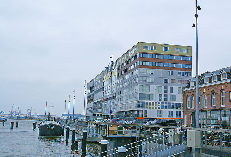 Silodam, arquitectura moderna en Amsterdam