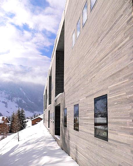 Las Termas de Vals: arquitectura y relax en Suiza: