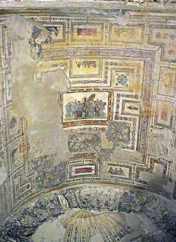 Bóveda de la Domus Aurea