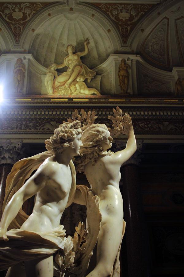 Apolo y Dafne de Bernini- Galería Borghese