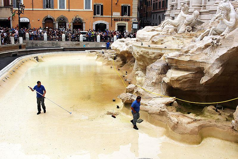 Fontana de Trevi - que hacer gratis en Roma