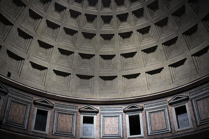 Panteón de Agripa Casetones
