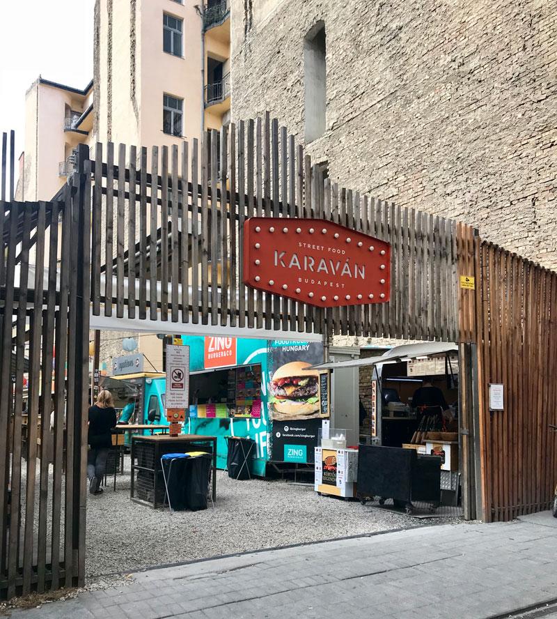 Karavan, donde comer en Budapest