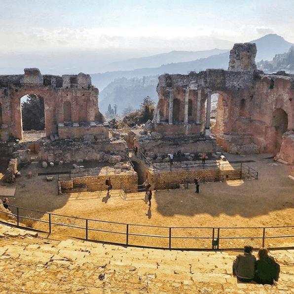 Taormina el paraíso en Sicilia