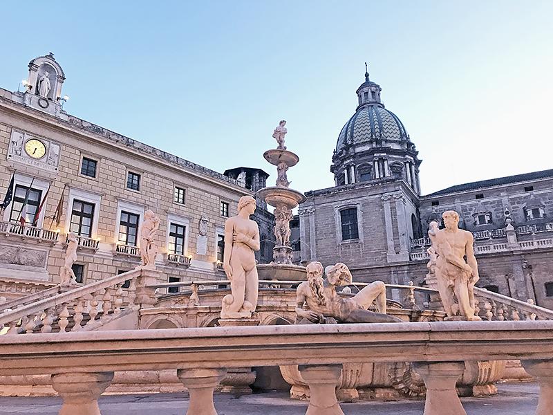Fontana Pretoria de Palermo