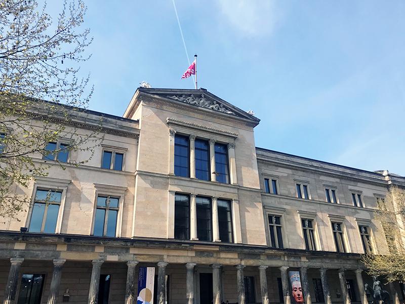 Neues Museum Berlín.