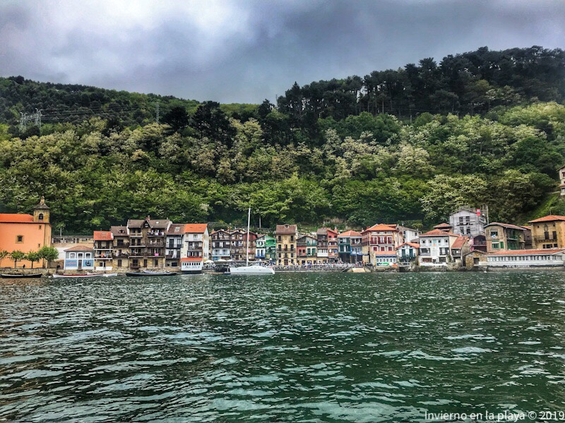Pasai Donibane, final de la ruta Talaia de Donosti a San Pedro