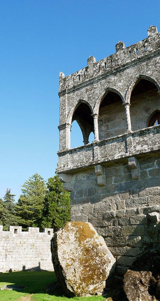 Galería de las Damas del castillo de Soutomaior