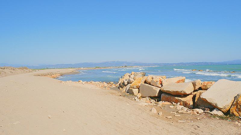 Ruta por la playa del Fangar