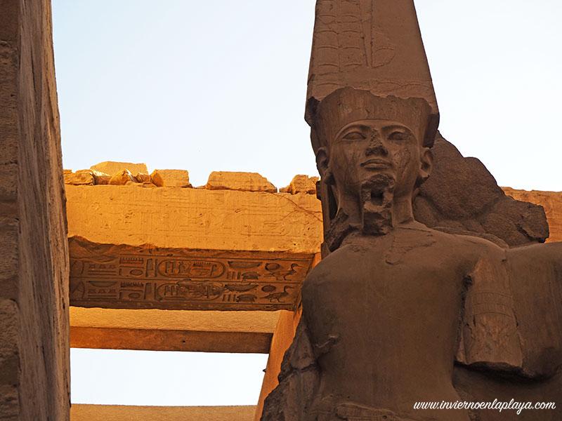 Ramses en Karnak