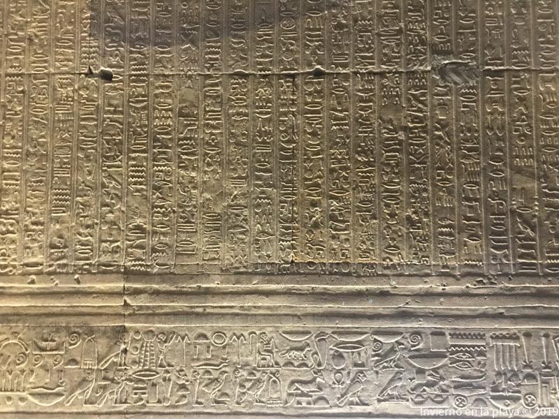 Edfu, cámara de los perfumes. Los relieves del templo de Edfu y Kom-Ombo aportan mucha información de la época