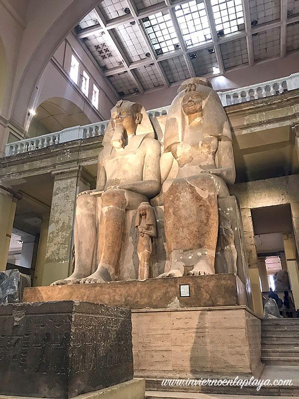 Museo Egipcio en El Cairo
