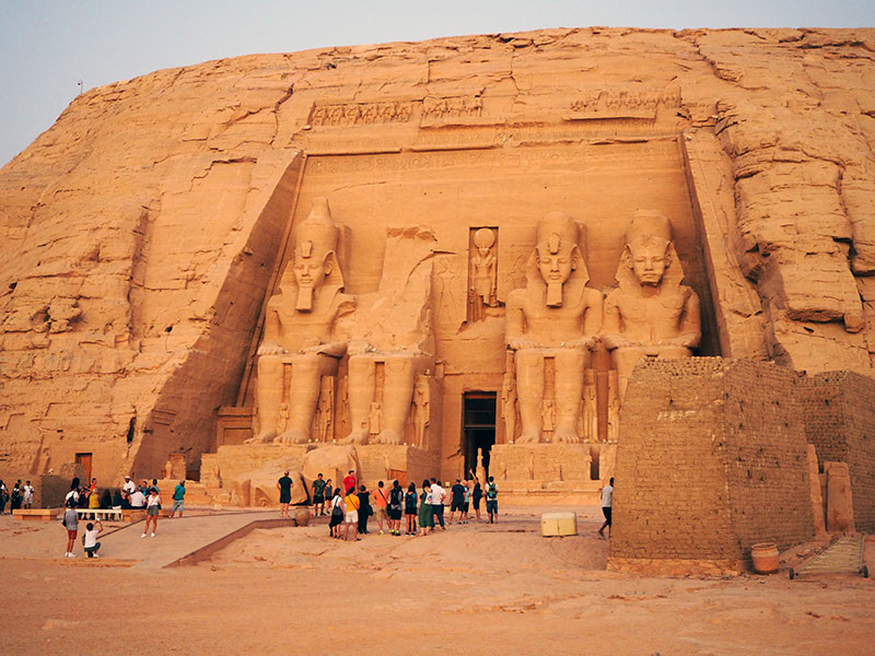 Abu Simbel, templo de Ramses II