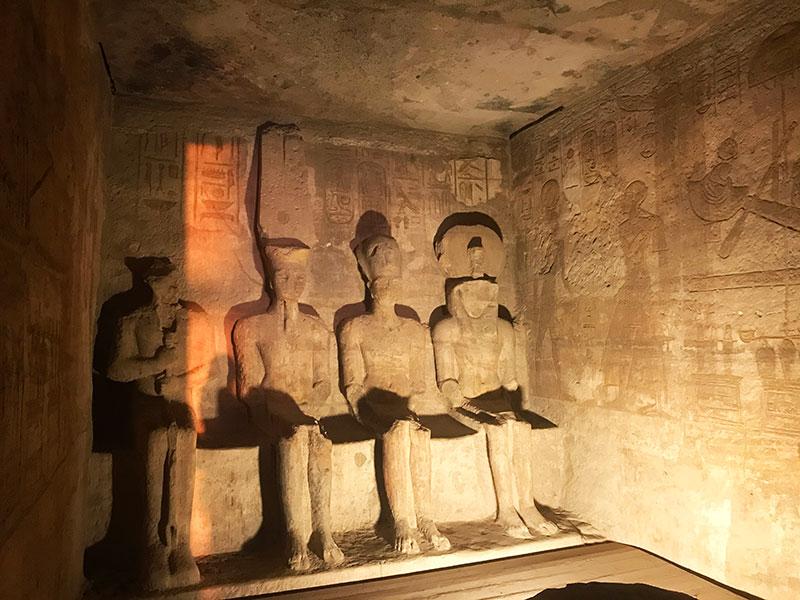 Sancta Sanctorum del templo de Ramses II