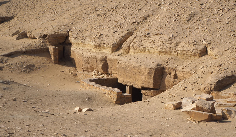 Mastabas en Saqqara.