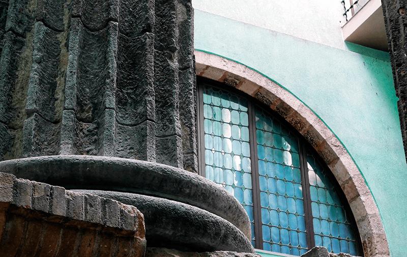 Templo de Augusto en el foro de Barcino