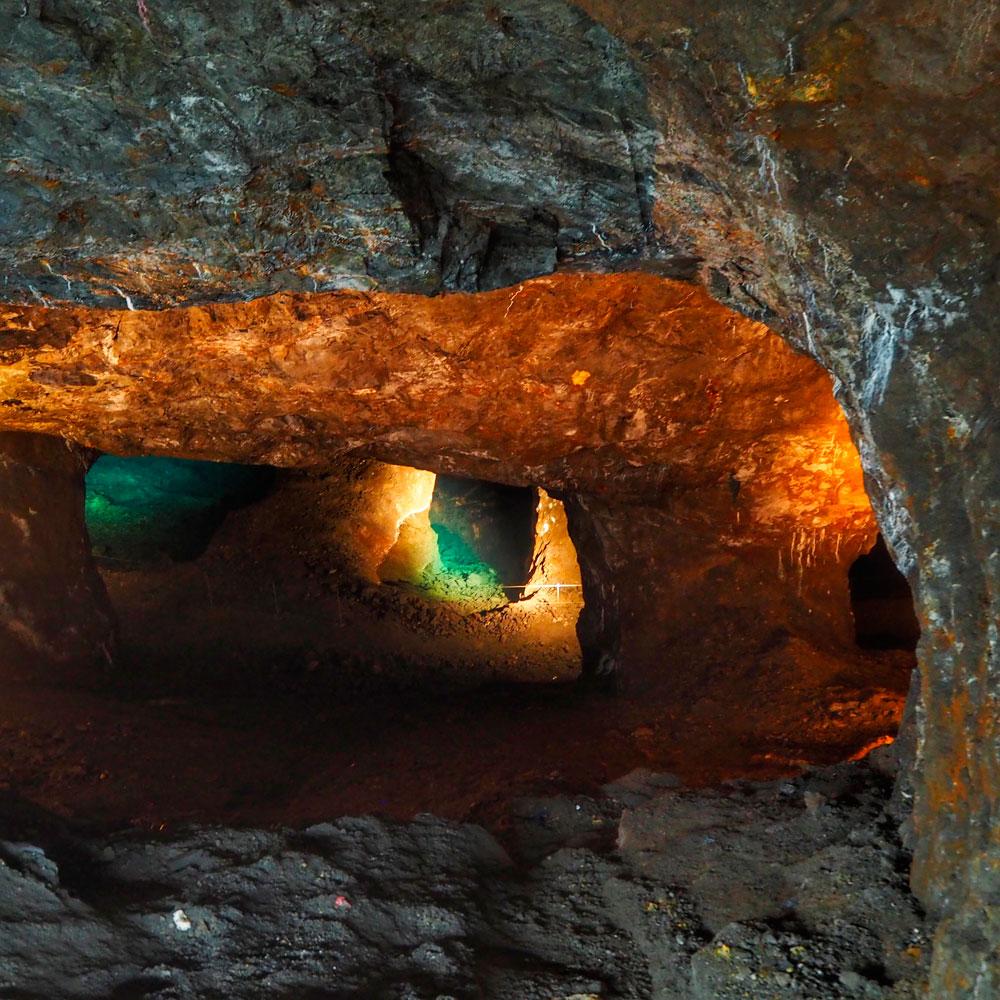 El tercer nivel de las minas