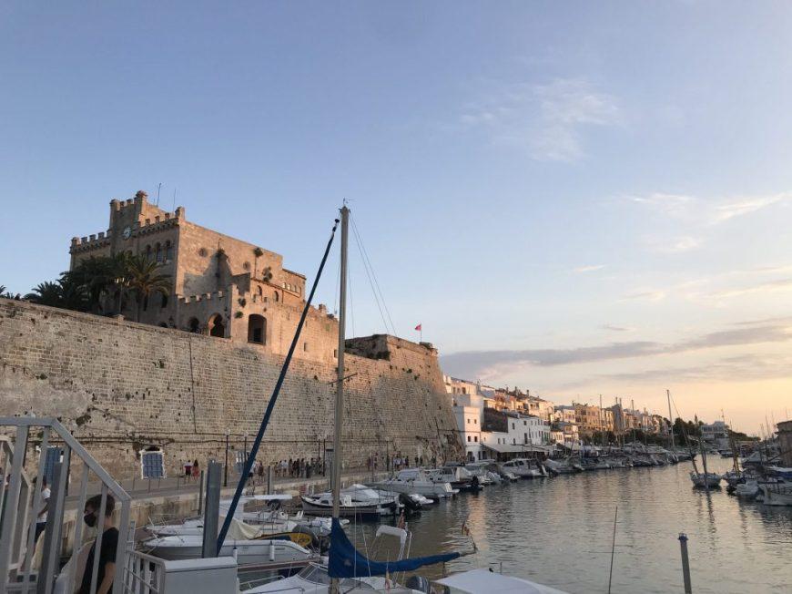 Puerto de Ciudadela, imprescindible en 7 días en Menorca.