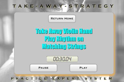 Music Practice App Concept - Invincible Violinist