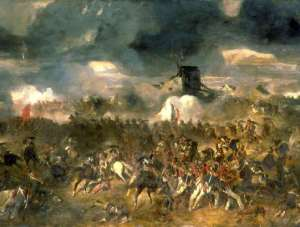 The second Battle of Waterloo